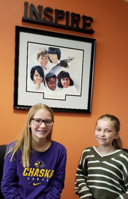 Two Girls at Pioneer Ridge